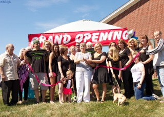 1st Selectman Denise Menard Welcomes CC Beauty Bar!