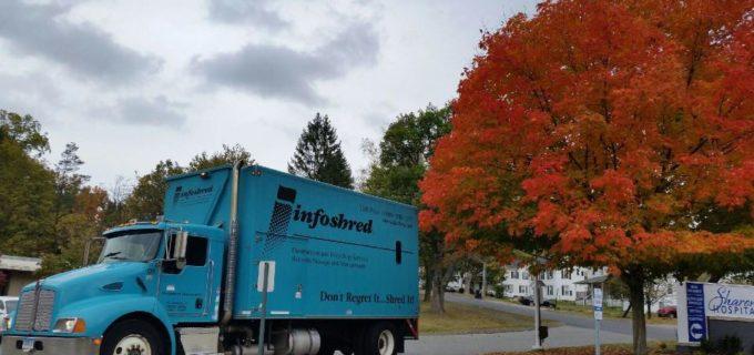 Info shred truck