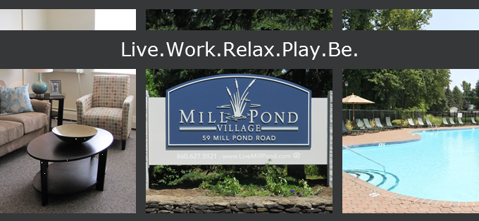 Mill Pond Village entrance