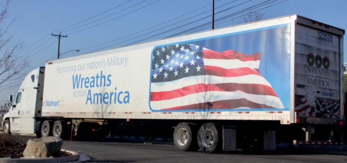 WalMart Helps Wreaths Across America Program