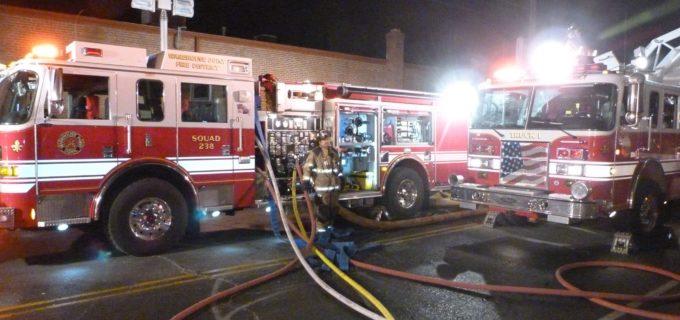 Warehosue point Fire trucks