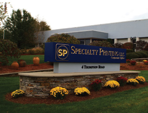 specialty printing sign