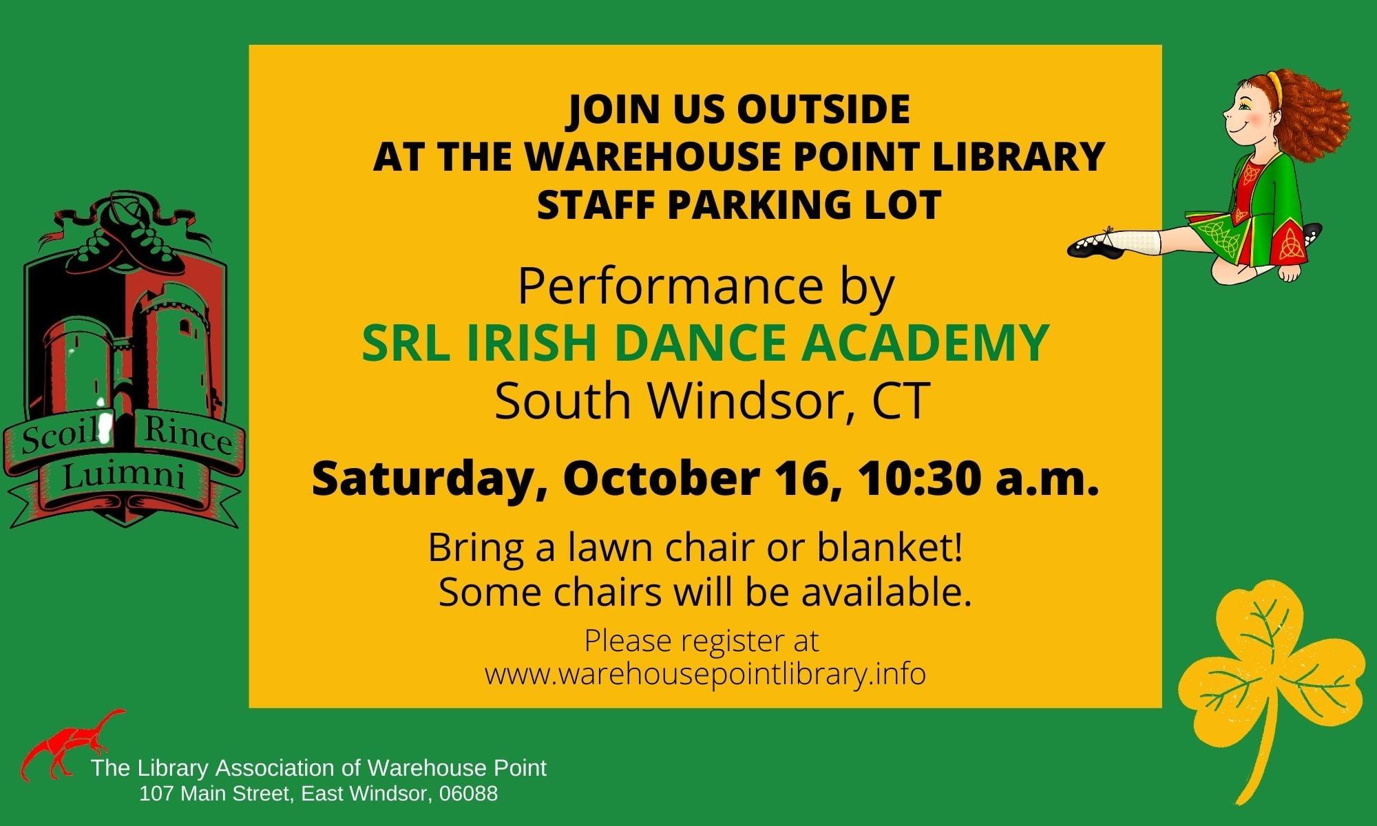 Irish Dancing at WPL @ Warehouse Point library